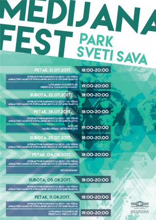 Medijana-fest-dečiji-program