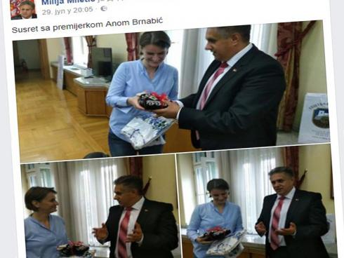 Miletic i Brnabic printscreen fb milija miletic
