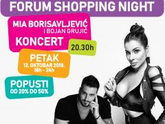 Forum shopping night